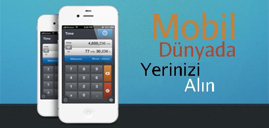 23 Ağustos 2012: Online ve Mobil Dünyanın İletişim Araçlarına Etkileri / Mobil Reklamcılık / Mobil SEO