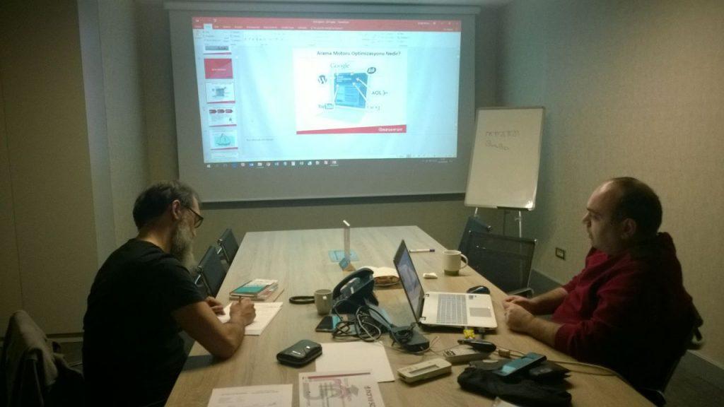 MarkeFront – SEO Eğitimi 21 Şubat'ta Gerçekleşti